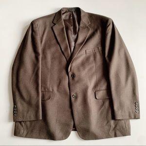 Andrew Fezza Blazer Sport Coat Herringbone 50R